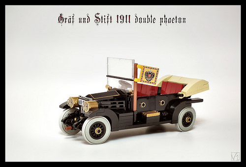 Gräf & Stift 1911 Double Phaeton