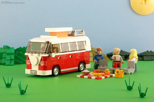 lego vw camper the lego car blog. Black Bedroom Furniture Sets. Home Design Ideas