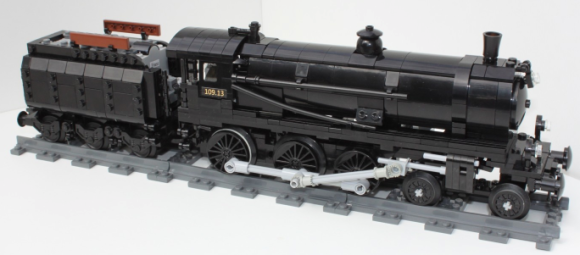 Lego Steam Train