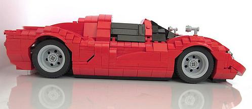 Lego Classic Ferrari Racer