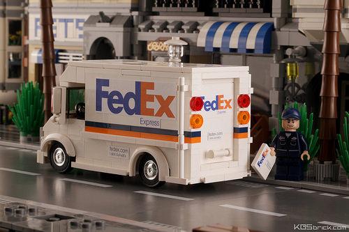 Lego FedEx Delivery