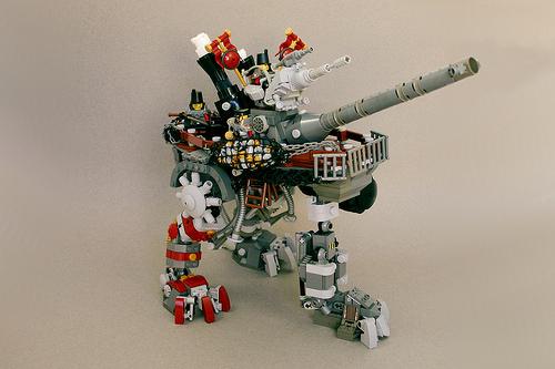 Lego Steam Wars