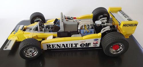 Lego Renault Turbo 1979 Formula 1