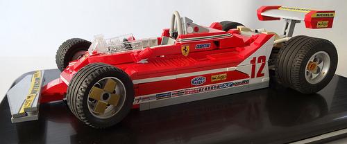 Lego Ferrari 312T4 1979 Formula 1