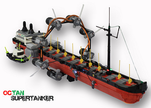 Lego Space Tanker