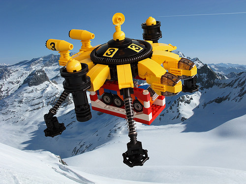 Lego VTOL Camel