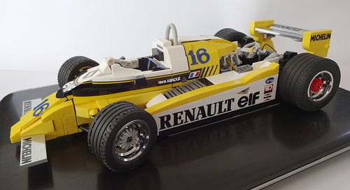 Lego Renault RE20 Turbo Formula 1
