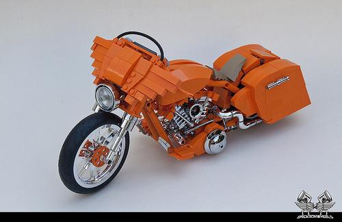 harley davidson the lego car blog. Black Bedroom Furniture Sets. Home Design Ideas