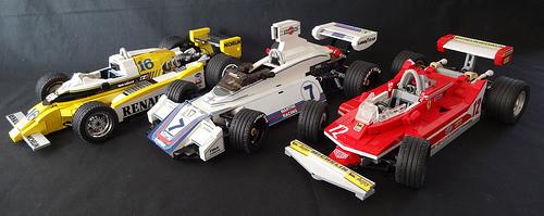 Lego Classic Formula 1 cars