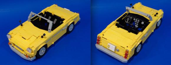 Lego Datsun Roadster