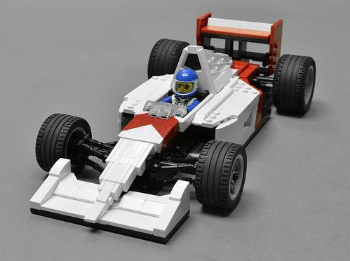 Lego Ayrton Senna McLaren