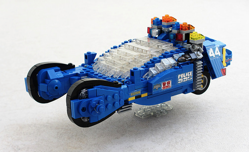 Lego Blade Runner Police Spinner   THE LEGO CAR BLOG