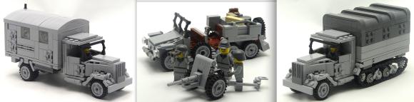Lego German Military