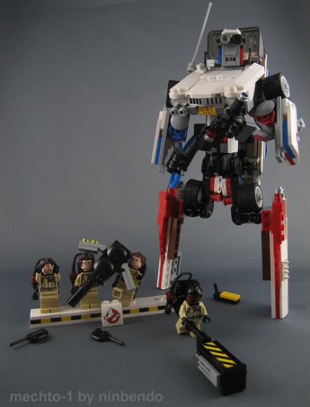 Lego Ecto-1 Mech