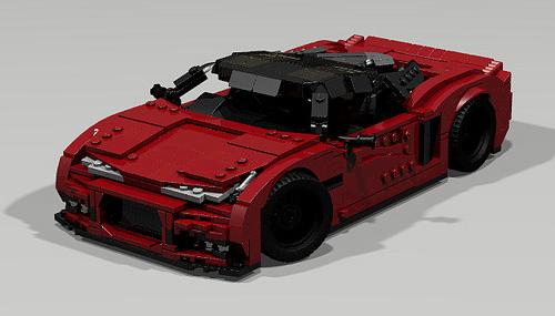 Lego Digital Supercar
