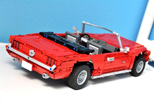 mustang the lego car blog. Black Bedroom Furniture Sets. Home Design Ideas