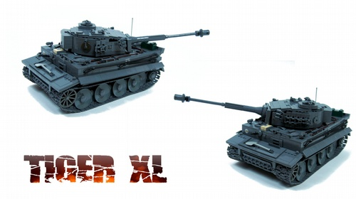 Lego World War RC Tank