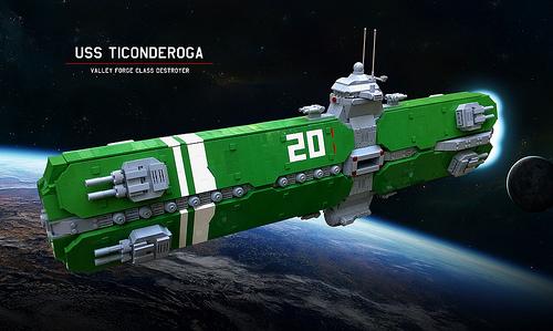 Lego Spaceship No.1