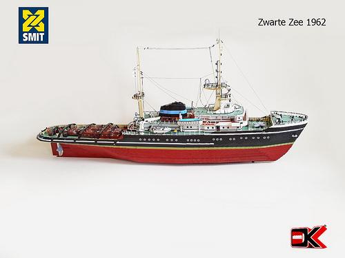 Lego Zwart Zee Ship