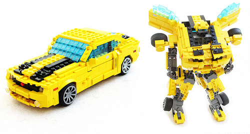 Lego Transformers Bumblebee Camaro