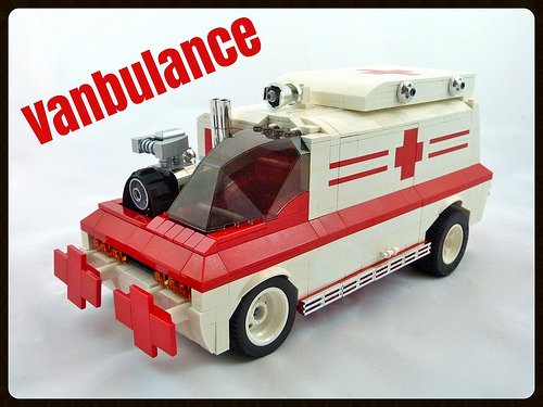 Lego Vanbulance Hot Rod