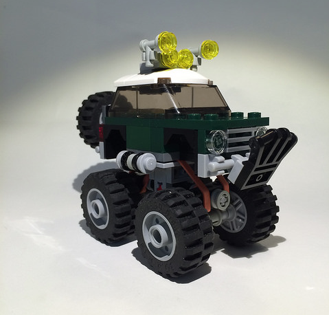 Lego Mini Cooper Redux