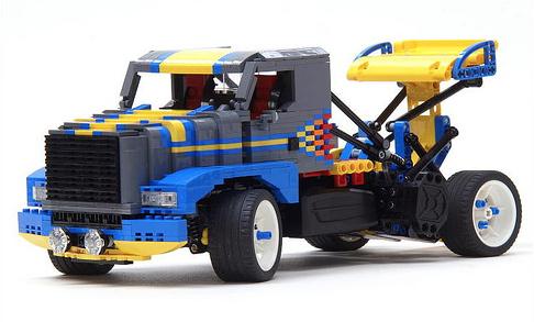Lego Pikes Peak Truck