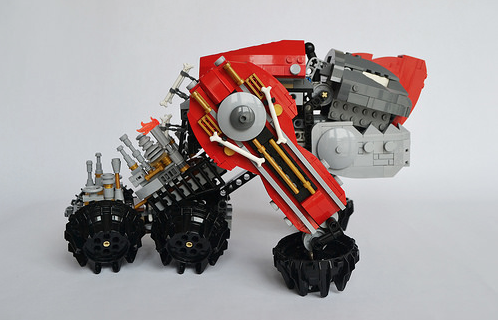 Lego Steampunk Iron Dog Mecha