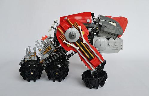 Lego Steampunk Iron Dog Mecha