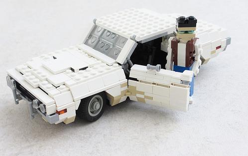 Lego Dodge Challenger 1971