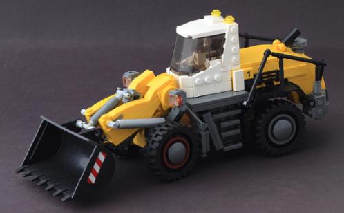 Lego Liebherr Front Loader