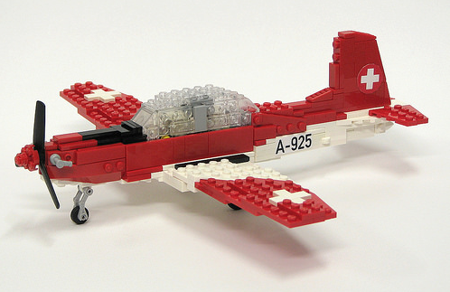 Lego Pilatus PC-7 Aircraft