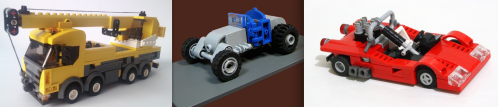 Small Lego Cars