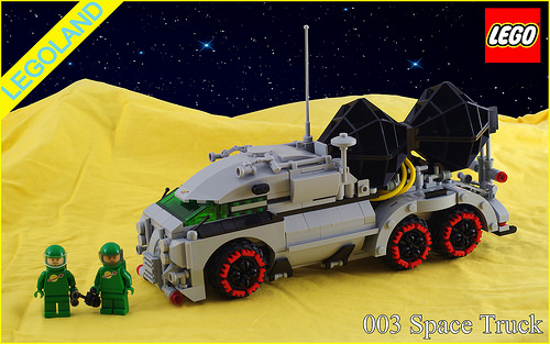 Lego Classic Space Truck