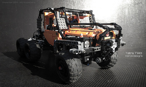 Lego Tatra T148 Truck Trial