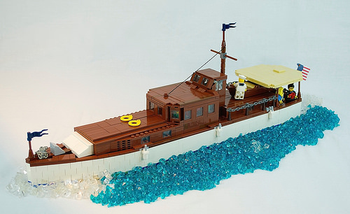 how to build a lego yacht