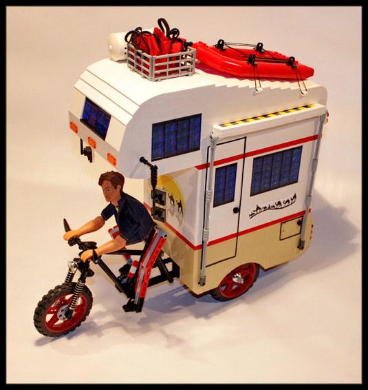 Lego Camper Bike The Lego Car Blog