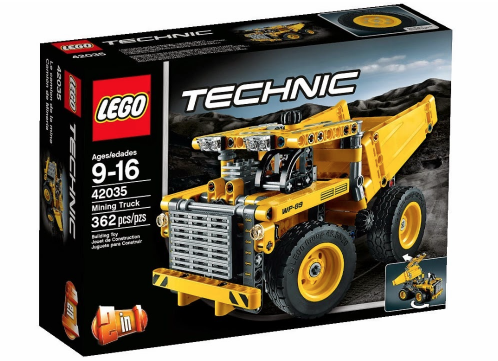 New LEGO Technic 2015 42035 Mining Truck