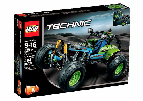 New Lego Technic 2015 42037 Formula Off-Road