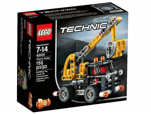 New LEGO Technic 2015 42031 Cherry Picker