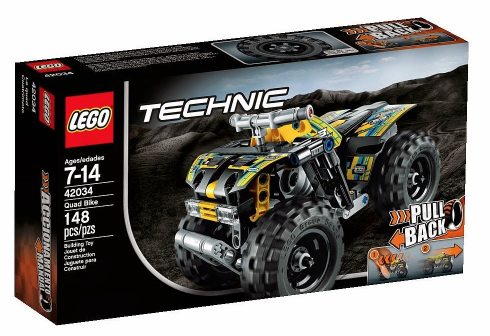 New Lego Technic 2015 42034 Quad Bike