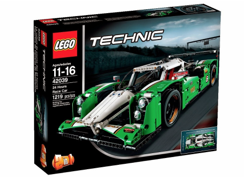 2015 LEGO Technic 42039 24 Hours Race Car