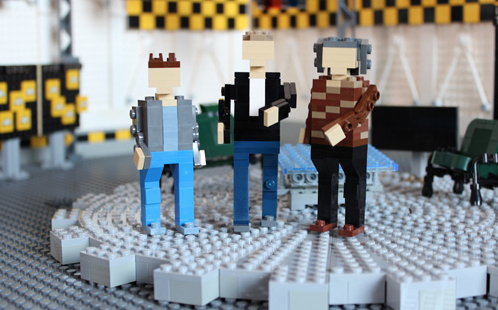 Lego TopGear Jeremy Clarkson, Richard Hammond James May