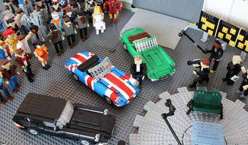 Lego Top Gear Studio Jeremy Clarkson