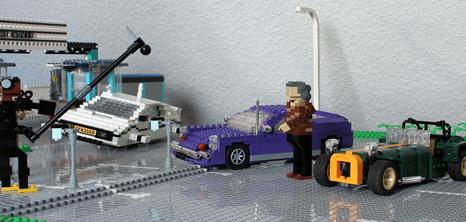 Lego James May TopGear