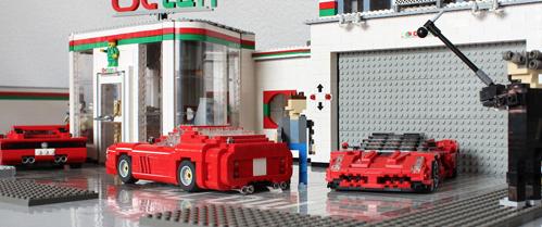 Lego Top Gear Richard Hammond