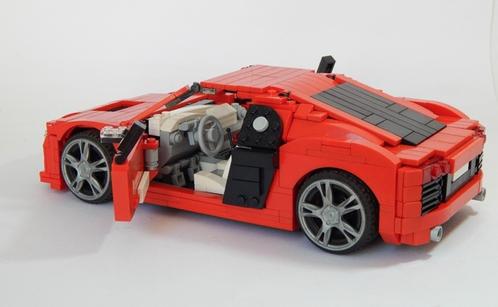 lego model team audi r8 the lego car blog. Black Bedroom Furniture Sets. Home Design Ideas