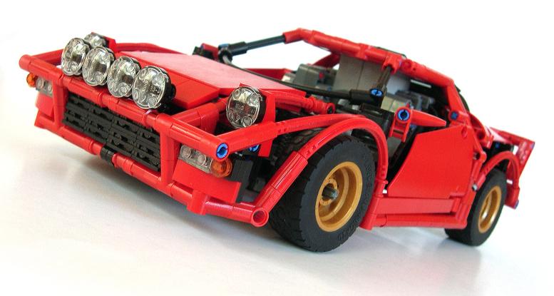 lego technic lancia stratos the lego car blog. Black Bedroom Furniture Sets. Home Design Ideas