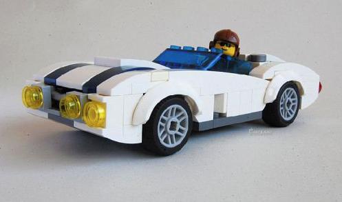 Lego Classic Roadster
