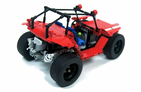 Lego Buggy Custom Suspension Springs